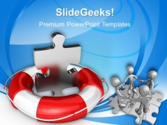 Parts Help Business PowerPoint Templates And PowerPoint Themes 1012