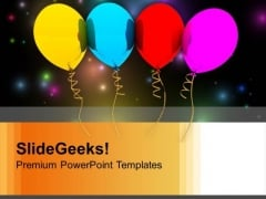 Party Balloons Festival PowerPoint Templates Ppt Backgrounds For Slides 1112