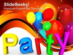 Party Lifestyle PowerPoint Templates And PowerPoint Themes 1012