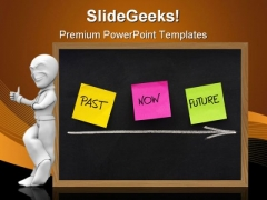 Past Now Future Business PowerPoint Template 1110