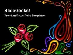 Pattern Art Background PowerPoint Templates And PowerPoint Backgrounds 0711