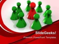 Pawns Team Leadership PowerPoint Templates And PowerPoint Themes 0712