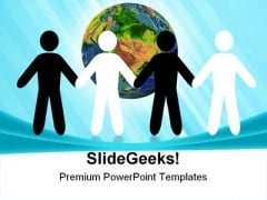 Peace Earth PowerPoint Themes And PowerPoint Slides 0811