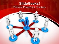 People Development And Teamwork PowerPoint Templates Ppt Backgrounds For Slides 0813