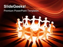 People Holding Hands Global PowerPoint Themes And PowerPoint Slides 0511