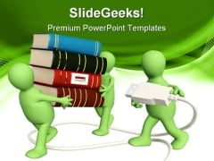 People Technology PowerPoint Backgrounds And Templates 1210