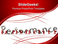 Performance Business PowerPoint Templates And PowerPoint Backgrounds 0711