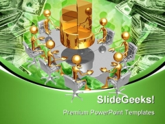 Performance Meeting Business PowerPoint Themes And PowerPoint Slides 0711