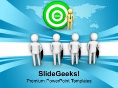 Person Explaining Business Goal PowerPoint Templates Ppt Backgrounds For Slides 0713