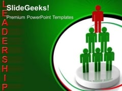 Person Leadership PowerPoint Templates And PowerPoint Themes 0512