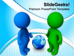 Person Talking Business PowerPoint Templates And PowerPoint Themes 0612