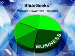 Personal Finances Pie Chart Marketing PowerPoint Templates And PowerPoint Themes 1012