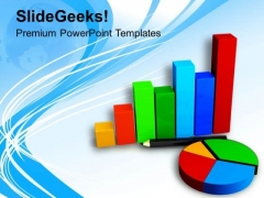 Picture Of Bar Graph And Pie Chart PowerPoint Templates Ppt Backgrounds For Slides 0713