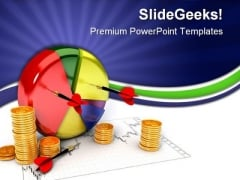 Pie Chart Business PowerPoint Templates And PowerPoint Backgrounds 0611