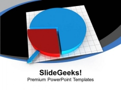 Pie Chart For Good Analysis PowerPoint Templates Ppt Backgrounds For Slides 0613