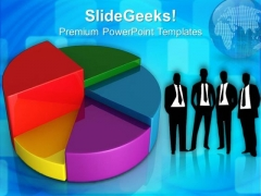 Pie Chart Marketing Business PowerPoint Templates And PowerPoint Themes 0712