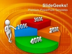 Pie Chart Of Profit Share PowerPoint Templates Ppt Backgrounds For Slides 0713