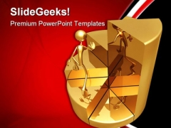 Pie Chart Stairs Success PowerPoint Templates And PowerPoint Backgrounds 0711