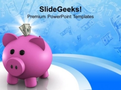 Piggy Bank Investment Business PowerPoint Templates Ppt Backgrounds For Slides 1212