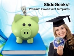 Piggy Bank Investment Finance PowerPoint Templates And PowerPoint Themes 0812
