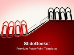 Pins Tie Together Communication PowerPoint Templates And PowerPoint Backgrounds 0811
