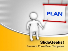 Plan To Survive In Business Is Important PowerPoint Templates Ppt Backgrounds For Slides 0713