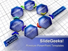 Planning Business PowerPoint Template 0910