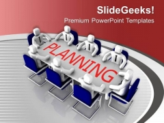 Planning Is Very Important In Business PowerPoint Templates Ppt Backgrounds For Slides 0513