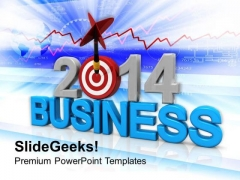 Planning Targets For New Year PowerPoint Template 1113