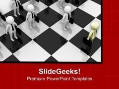 Play Chess And Become Intelligent PowerPoint Templates Ppt Backgrounds For Slides 0713