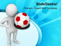 Play Football With Friends PowerPoint Templates Ppt Backgrounds For Slides 0813
