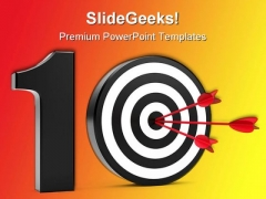 Play On Ten Sports PowerPoint Themes And PowerPoint Slides 0211