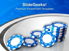 Play Poker And Enjoy PowerPoint Templates Ppt Backgrounds For Slides 0513