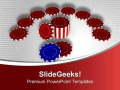 Play Poker And Win Money PowerPoint Templates Ppt Backgrounds For Slides 0513