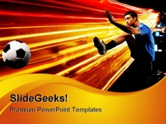 Play Sports PowerPoint Templates And PowerPoint Backgrounds 0811