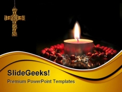 Prayer Religion PowerPoint Templates And PowerPoint Backgrounds 0711
