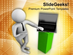 Presenting Business Results Online PowerPoint Templates Ppt Backgrounds For Slides 0713
