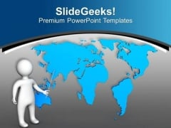 Presenting Global Issues PowerPoint Templates Ppt Backgrounds For Slides 0613
