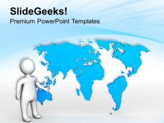 Presenting World Map Business Concept PowerPoint Templates Ppt Backgrounds For Slides 0513