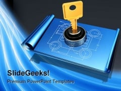 Private Plans Security PowerPoint Templates And PowerPoint Backgrounds 0211