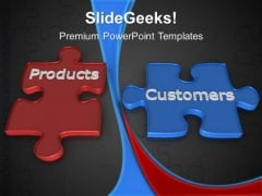 Products Customers Sales PowerPoint Templates And PowerPoint Themes 0512