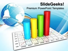 Products Sale Graph Business PowerPoint Templates And PowerPoint Themes 0812