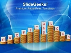 Profit And Loss Finance Business PowerPoint Templates And PowerPoint Themes 0812