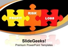 Profit Loss Risk Business PowerPoint Templates And PowerPoint Themes 1112