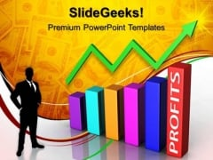 Profits Bar Chart Finance PowerPoint Templates And PowerPoint Themes 0612