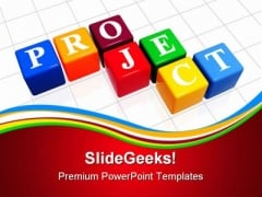 Project Business PowerPoint Themes And PowerPoint Slides 0811