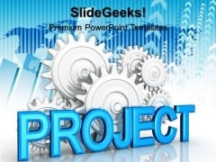 Project Gears Industrial PowerPoint Templates And PowerPoint Themes 0512