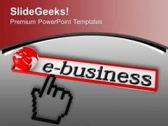 Promote The E Business Technique PowerPoint Templates Ppt Backgrounds For Slides 0613