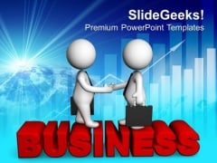 Promotion Of Business To New Customers PowerPoint Templates Ppt Backgrounds For Slides 0513