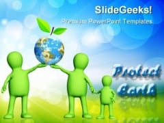 Protect Earth Environment PowerPoint Themes And PowerPoint Slides 0411